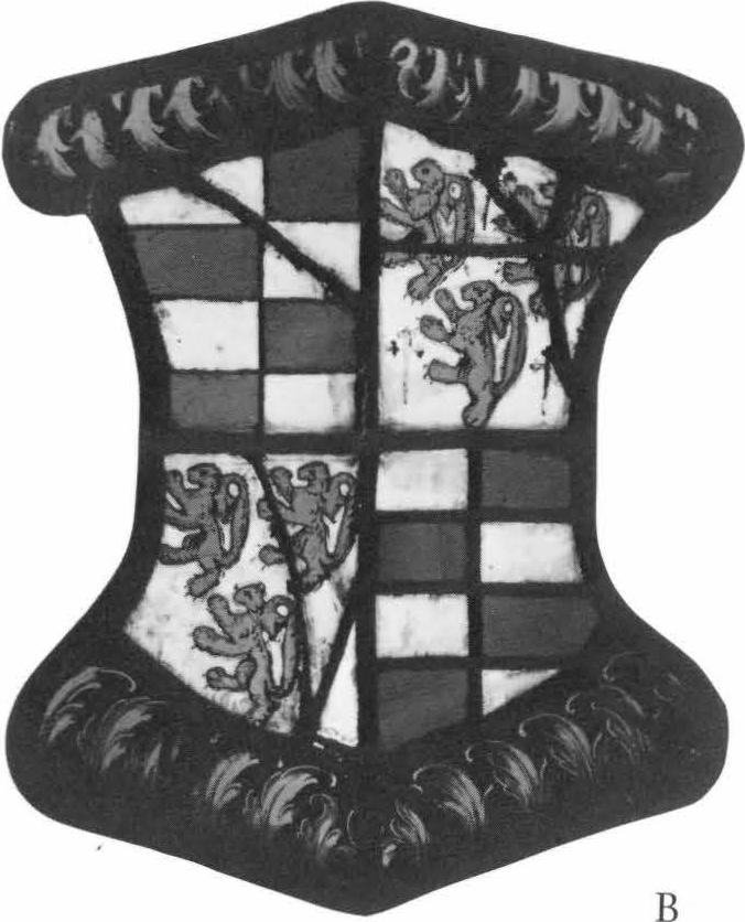 Arms of George Barrett of Belhus