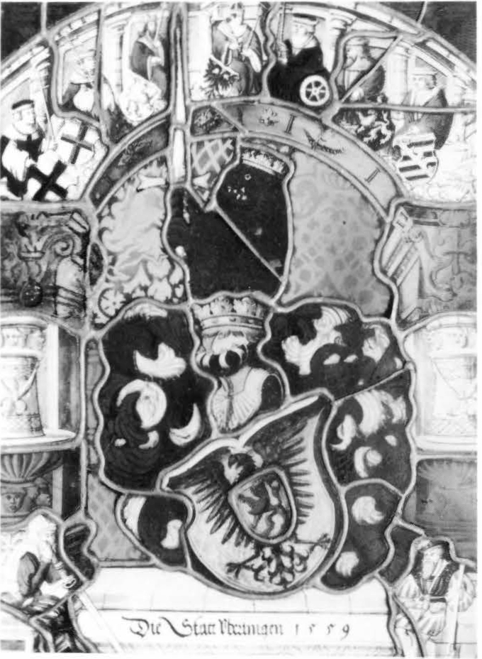 The Emperor and the Seven Electors with the Arms of Ueberlingen
